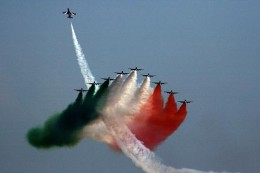 55th Anniversary of the FRECCE TRICOLORI 5 to 6 Sep. 2015