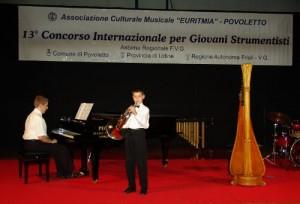 Concorso Internazionale per Giovani Strumentisti Euritmia Povoletto